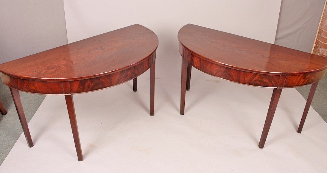 Pair of Georgian Pier Tables