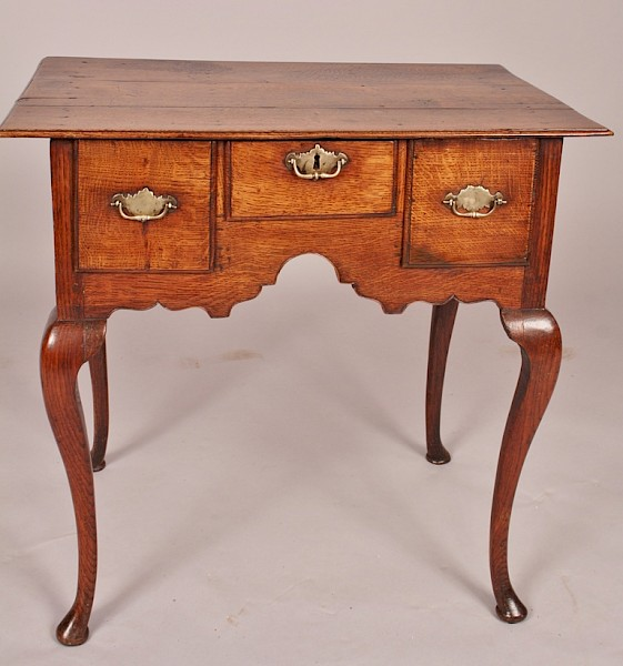 Superb Small George II Lowboy Oak
