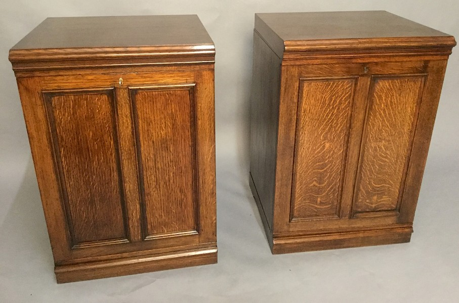 a single Collectors Cabinets J J Hill London