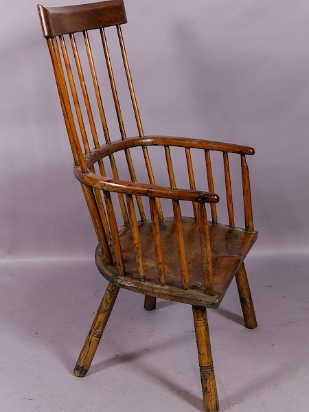 West Country Windsor Chair traces of paint