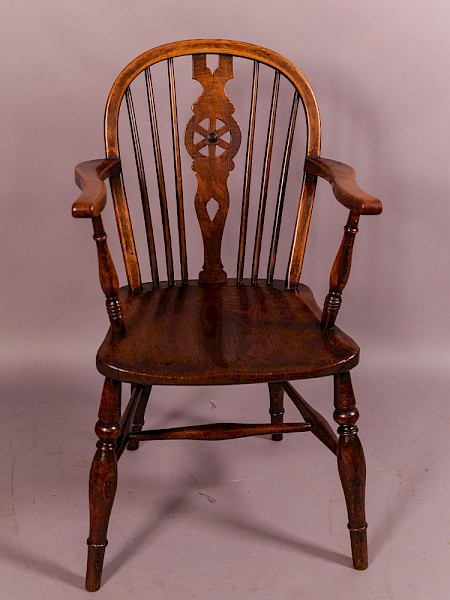 19th century Thames Valley Windsor Chair
