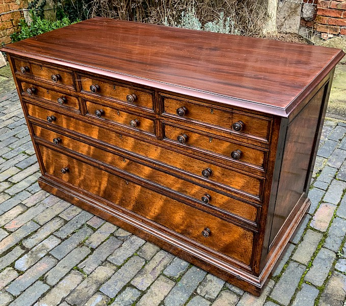 Very Unusual Gillows (stamped) Dressing chest