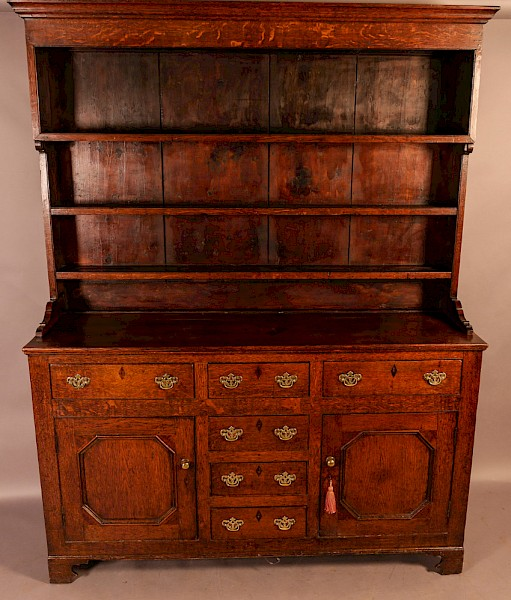 Georgian Oak Welsh Dresser
