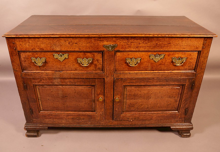 A Very Rare Small 18th century Dresser
