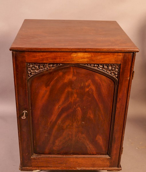 A Good Victorian Colectors Cabinet 11 drawers